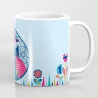 HUNGRY CAT & LITTLE BIRD… Mug