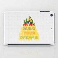 Build Your Dreams! iPad Case