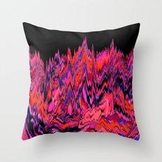 Martian Mountains Throw Pillow