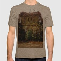 Nature finds the way inside... Mens Fitted Tee Tri-Coffee SMALL