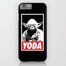 Obey Yoda (yoda text version) - Star Wars iPhone 6s Slim Case