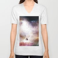 Unisex V-Neck featuring Moth 1 by Stephen Linhart