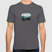 discover your northwest- mountains Mens Fitted Tee Asphalt SMALL