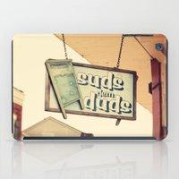 Suds dem Duds iPad Case