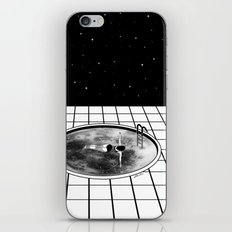 Pool Moon iPhone & iPod Skin