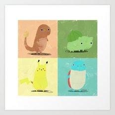 Starters Art Print