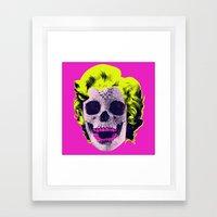 Norman Bates' Mom #2 Framed Art Print
