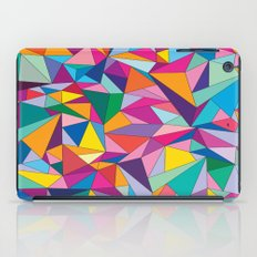 Triangles in color iPad Case