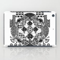 symmetry and a little bit of assymetry iPad Case