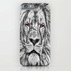 Black Lion iPhone 6 Slim Case