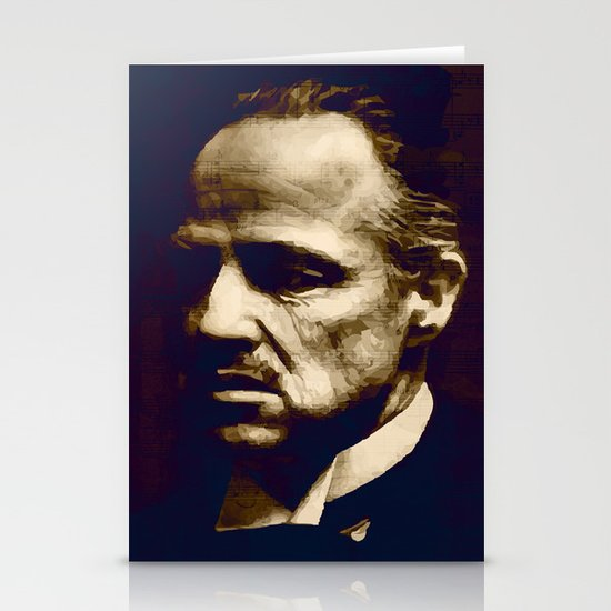 Godfather - I will make him an offer he can't refuse Stationery Card