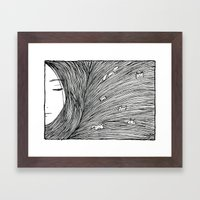 Separated Framed Art Print