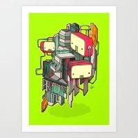 Cubots Art Print
