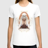 Ytuty Lord Of Owls Womens Fitted Tee White SMALL