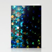sparkle x fade Stationery Cards