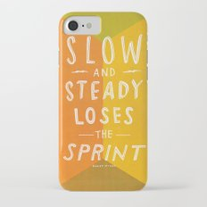 slow and steady loses the sprint iPhone 7 Slim Case