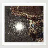 star pool Art Print
