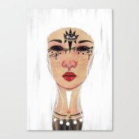 Happy Halloween - White Version Canvas Print