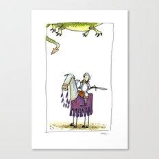 Dragons? Canvas Print