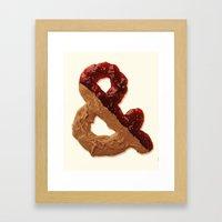 Jampersandwich Framed Art Print