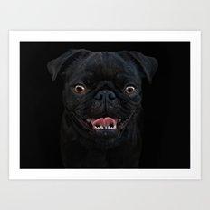 gimme a smile Art Print