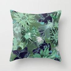 Flora Fauna (Pattern) Throw Pillow