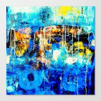 In and Out of the Blue Canvas Print