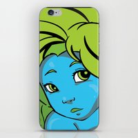Mermaid Me Happy iPhone & iPod Skin