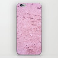 Marble - Pink iPhone & iPod Skin