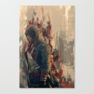 Canvas Print featuring Arno by Wisesnail