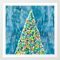 TREE OF LIGHT Art Print