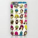 The League of Cliché Evil Super-Villains iPhone & iPod Case