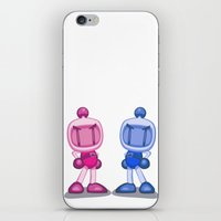 Dropping Bombs! iPhone & iPod Skin