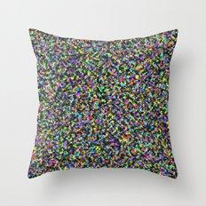 Black Opal Throw Pillow