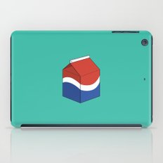Pepsi in a box iPad Case