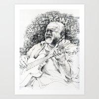 John Martyn Art Print