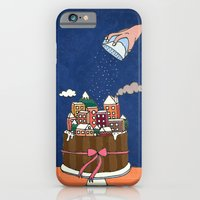 iPhone & iPod Case featuring Powdered sugar, not snow! by Duru Eksioglu