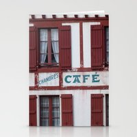 Basque Café Stationery Cards