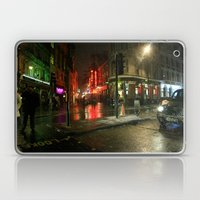 Snowing in London Laptop & iPad Skin