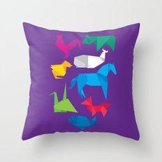 Origanimals Throw Pillow