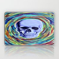 A Skull's Vortex Laptop & iPad Skin