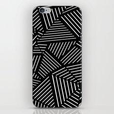 Ab Linear oom Black iPhone & iPod Skin