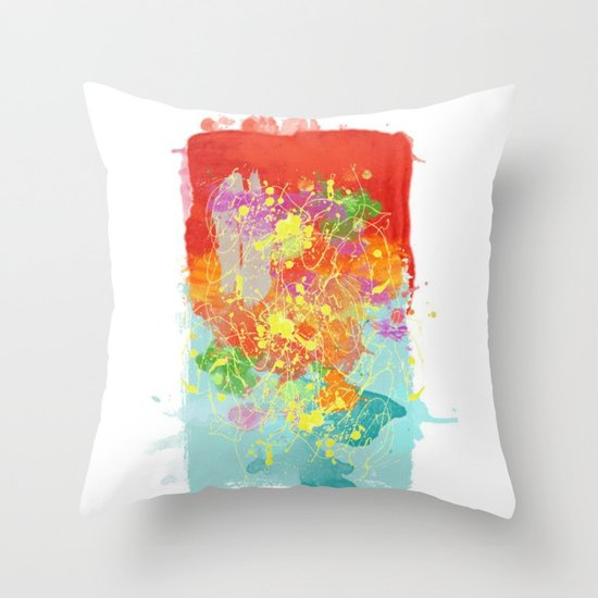 Color Tribute  Throw Pillow