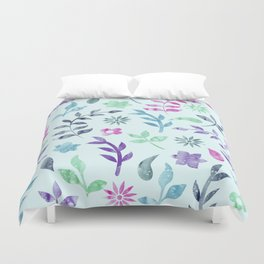 Duvet Cover - Seamless Flower Pattern - KAPS Studio