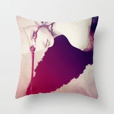 The Soul - generative mix Throw Pillow