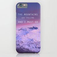 The Mountains Are Callin… iPhone 6 Slim Case