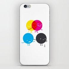 YM love CK hate iPhone & iPod Skin