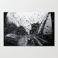 'Side View Rain' Canvas Print