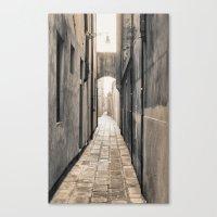 Endless Alley Canvas Print