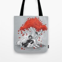Dreaming Of A Quiet Wint… Tote Bag